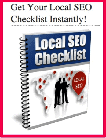 Local SEO checklist lead magnet