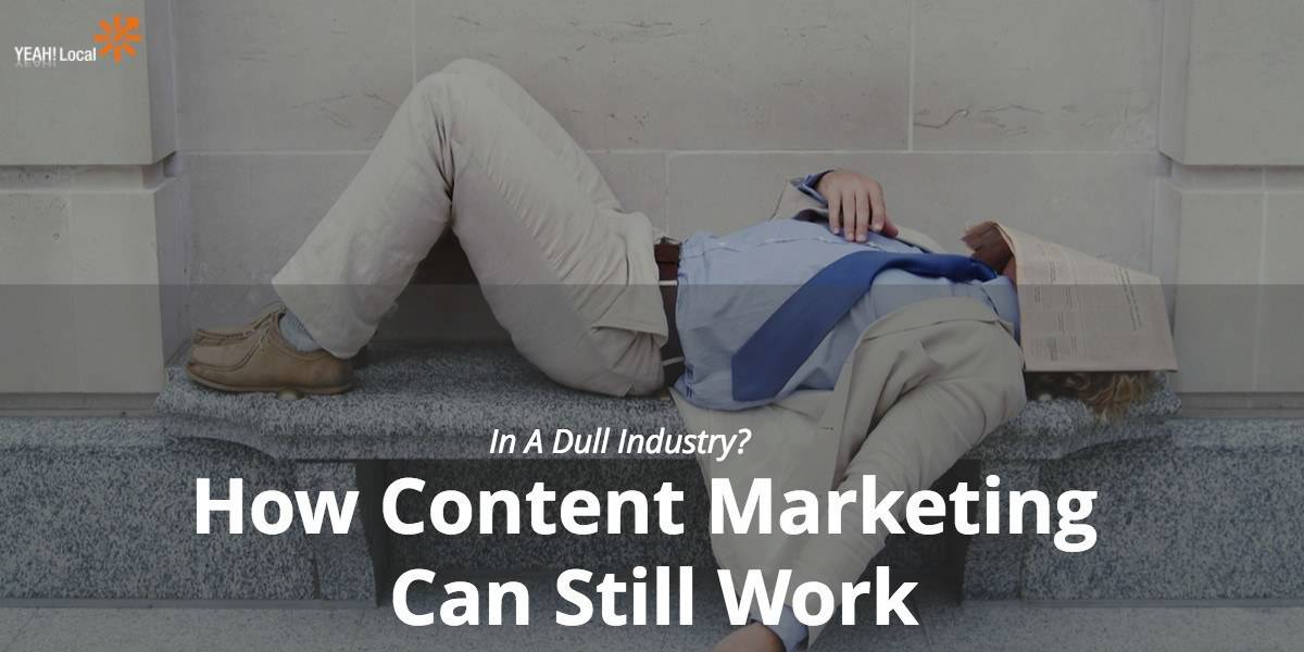 How Content Marketing Can Still Work