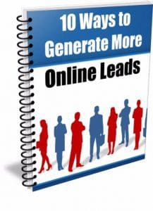 10 Ways to Generate More Online Leads