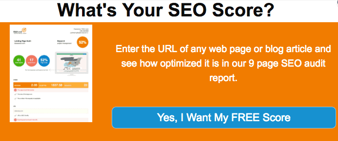 What's Your SEO Score?