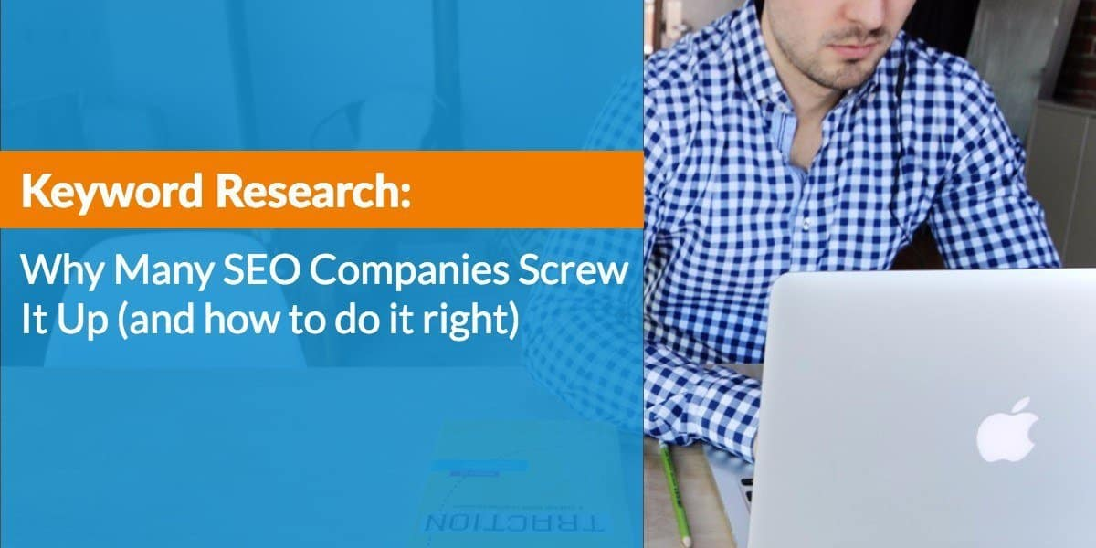 how to do research on a company