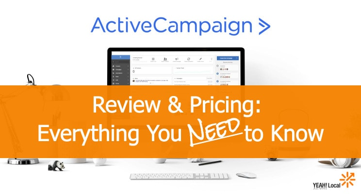 Email Marketing Active Campaign  Retail Price